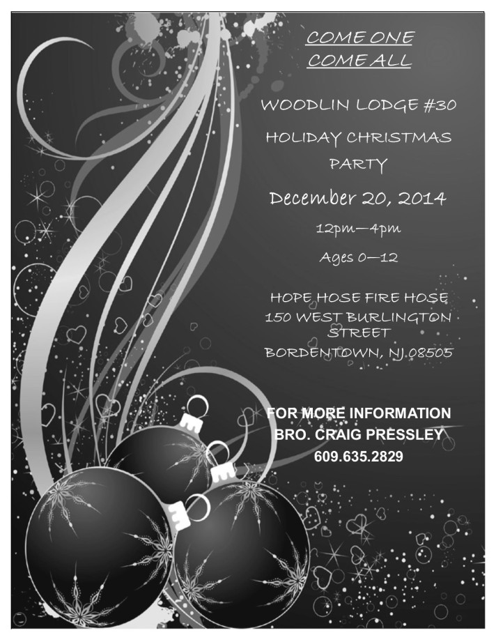 WOODLIN LODGE HOLIDAY PARTY 2014