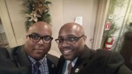 Annual Affair Selfie - Bro Pierson and WB Monitigue