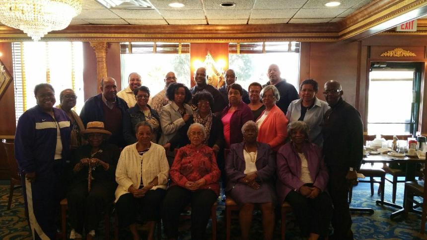 Senior Star's Luncheon April 2015