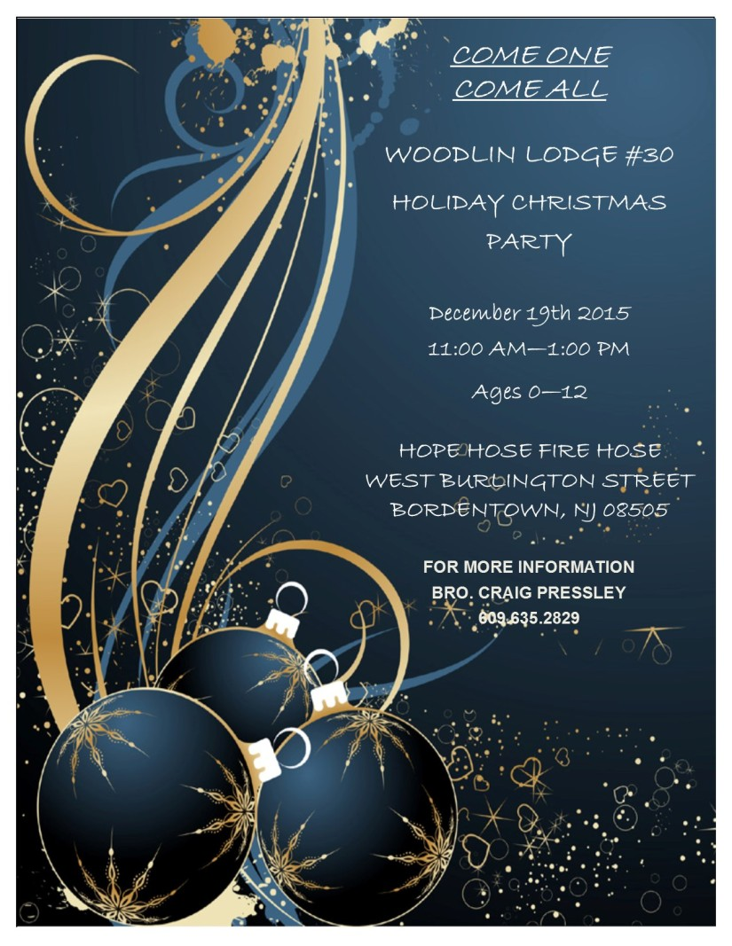 WOODLIN LODGE HOLIDAY PARTY 2015